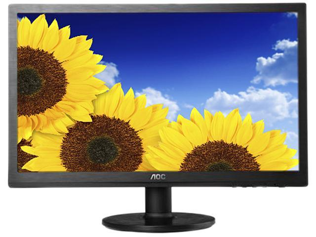 "AOC E960SWN Black 18.5"" 5ms Widescreen LED Backlight LCD Monitor"
