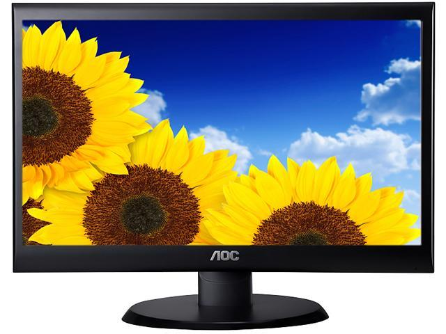 "AOC E2250SWDN-RB Black 21.5"" 5ms Widescreen LED Backlight LCD Monitor"