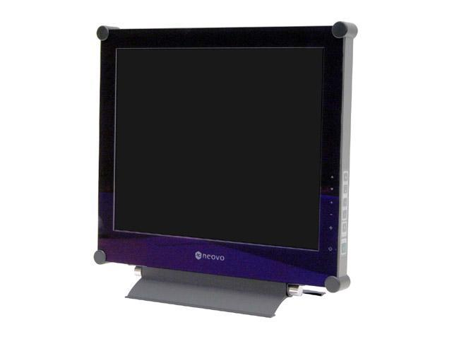 "AG Neovo X-17AV Black 17"" 3ms (GTG) LCD Monitor 300 cd/m2 800:1"