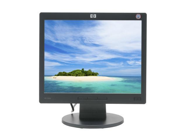 "HP L1506 Black 15"" 8ms LCD Monitor 250 cd/m2 500:1"