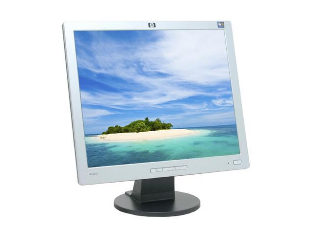"HP L1906 Silver-Black 19"" 5ms LCD Monitor 270 cd/m2 500:1"