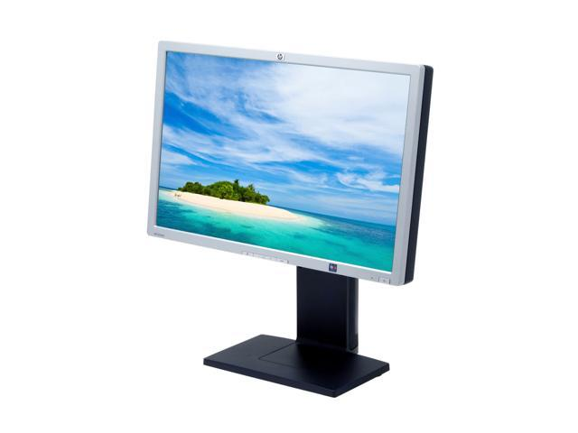 "HP LP2465 Carbonite-Silver 24"" 6 ms (GTG) Widescreen LCD Monitor with Height & Pivot Adjustments 500 cd/m2 1000:1"