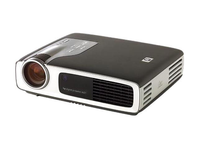 HP XB31 1024 x 768 1500 comparable lumens/1200 ANSI lumens DLP Projector Recertified