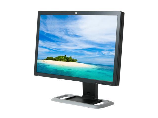 "HP LP3065 Black-Silver 30"" 12ms DVI Widescreen LCD Monitor w/ USB2.0 & Height Adjustment 300 cd/m2 1000:1"