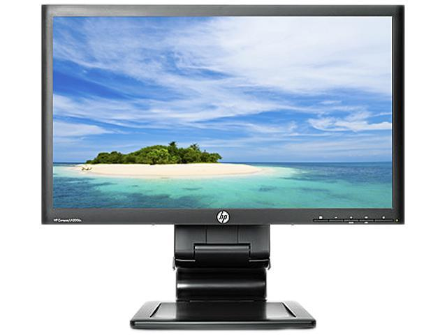 "HP Compaq LA2006x Black 20"" 5ms LED Backlight LCD Monitor"