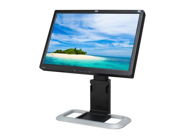 "HP L2045w Black-Silver 20.1"" 5ms Widescreen LCD Monitor with Height & Pivot Adjustments"