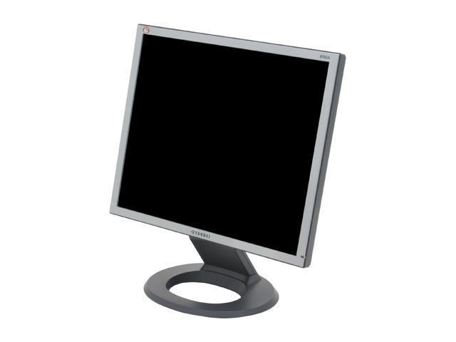 "HYUNDAI B90A Silver-Black 19"" 8ms LCD Monitor 300 cd/m2 700:1"