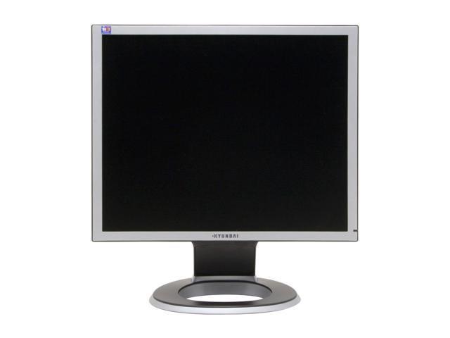"""HYUNDAI B90D Silver-black 19"""" 8ms LCD Monitor 300 cd/m2 700:1 Built-in Speakers"""