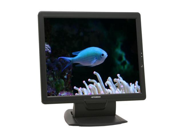 """HYUNDAI X71S Black 17"""" 8ms LCD Monitor 300 cd/m2 700:1 Built-in Speakers"""