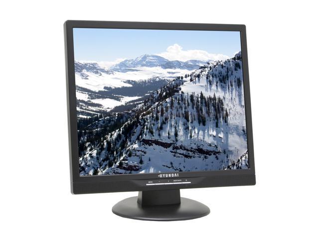 """HYUNDAI T91D Black 19"""" 5ms LCD Monitor 300 cd/m2 700:1 Built-in Speakers"""
