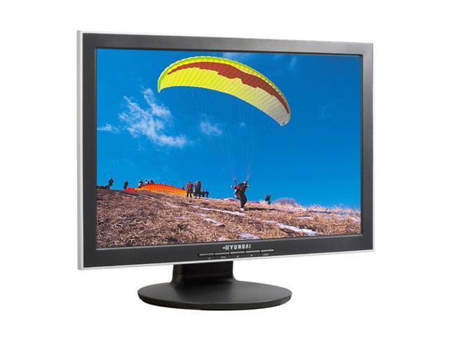 "HYUNDAI N220W Black 22"" 5ms Widescreen LCD Monitor 280 cd/m2 700:1 Built-in Speakers"