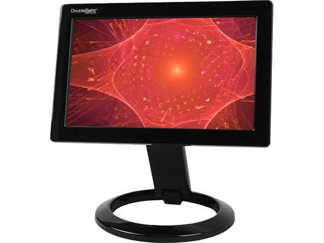 "DoubleSight DS-90U Black 8.9"" 30ms Widescreen LCD Monitor"