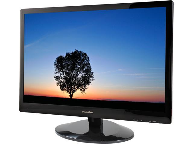 "DoubleSight DS-309W Black 30"" 2560 X 1600, 16:10, 6ms(GTG) 370 cd/m2 1,000:1, IPS Panel, Dual Link DVI-D,TAA Compliant"