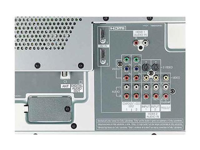 """Panasonic Viera 50"""" 720p Plasma TV with ATSC Tuner TH50PX60U"""