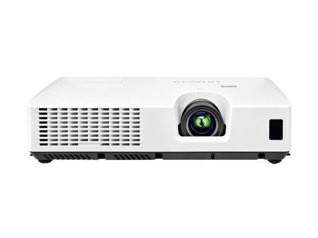 HITACHI CPWX8 1280 x 800 Normal Mode 2600 ANSI Lumens Eco Mode 1800 ANSi Lumens 3LCD Projector