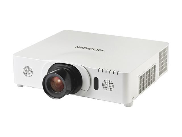 Hitachi CP-WU8450 1920x1200 WUXGA 5000 ANSI Lumens, RJ45 (LAN Control/Display), Dual HDMI Inputs, Optional Wireless, Crestron RoomView, Picture ...