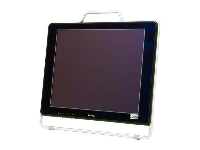 "Shuttle XP17AR-BK-V2 Black-Silver 17"" 8ms LCD Monitor 300 cd/m2 500:1"