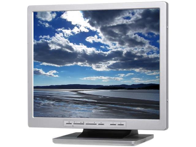 """Eversun SC Series SC176HN-C Metal / Black (Rear) 17"""" 5ms CCTV LCD Monitor Built-in Speakers"""
