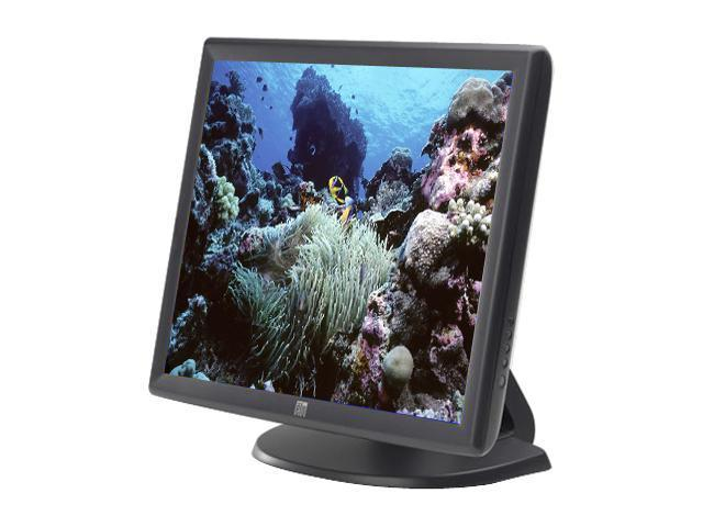 "ELO TOUCHSYSTEMS 1915L(E607608) Dark gray 19"" Dual serial/USB 5-wire Resistive Touchscreen Monitor 240 cd/m2 800:1"