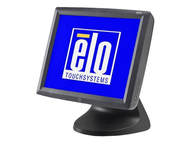 """ELO TOUCHSYSTEMS 1529L Dark gray 15"""" Serial/USB 5-wire Resistive LCD Desktop Touchmonitor Built-in Speakers"""