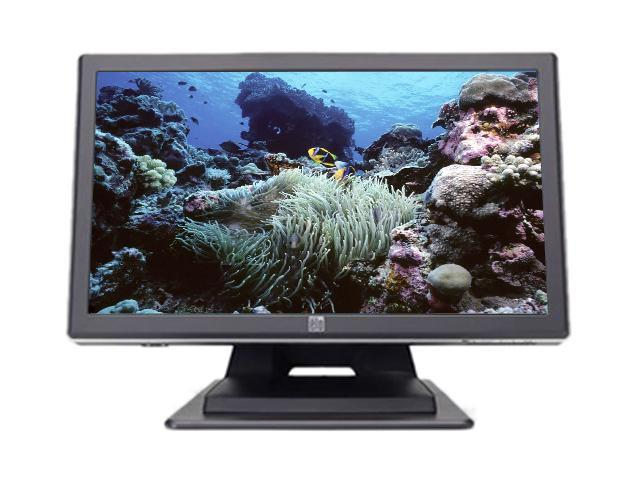 "ELO TOUCHSYSTEMS E458829 Black 19"" USB Surface Acoustic Wave Touchscreen Monitor Built-in Speakers"