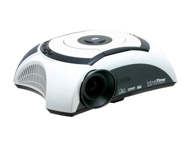 Optoma DV10 854 x 480 DLP MovieTime Digital DVD Projector 1000 cd/m2 4000:1
