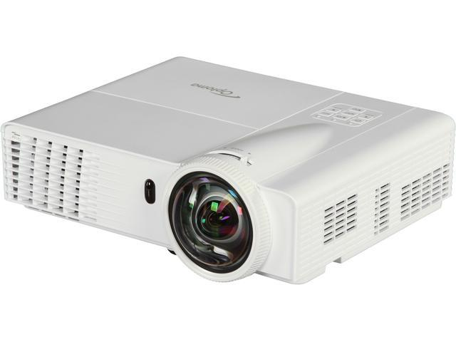 Optoma W306ST WXGA 1280x800 Short Throw Performance HDMI Input 3500 Lumens DLP Projector