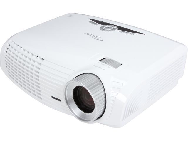 Optoma HD25E 1920x1080 FHD 2800 ANSI Lumens, 16:9 Aspect Ratio, Dual HDMI / VGA Inputs, Kensington Lock, 3D Ready DLP Home Theater Projector