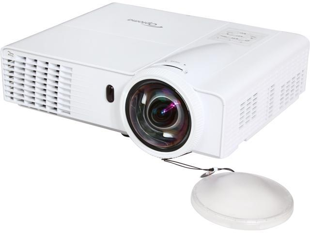 Optoma GT760 WXGA 1280x720 HDMI & USB Input Short Throw 3400 Lumens 3D DLP Gaming Projector