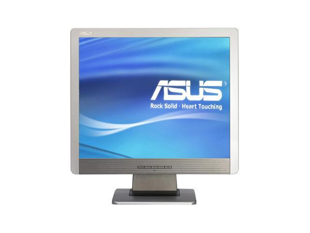 "ASUS MM17D Silver 17"" 8ms LCD Monitor With SPLENDID Video Intelligence Technology Zero Bright Dot (ZBD) 400 cd/m2 600:1"