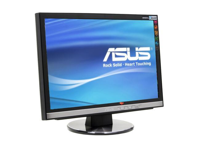 "ASUS MW201U Black-Silver 20"" 2ms (GTG) Widescreen LCD Monitor 300 cd/m2 700:1 Built-in Speakers"