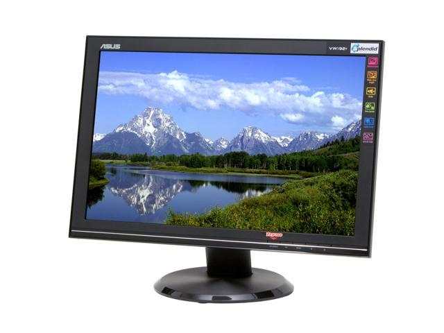 "ASUS VW192T Black 19"" 5ms Widescreen LCD Monitor 330 cd/m2 800:1 Built-in Speakers"