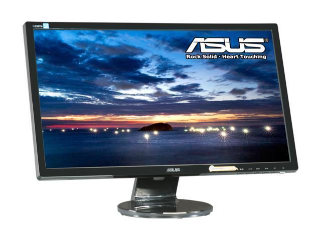 "Asus VE248H Black 24"" 2ms Full HD HDMI LED Backlight LCD Monitor w/Speakers 250 cd/m2 10,000,000:1"