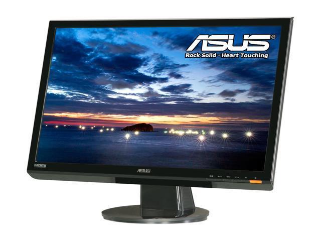 """ASUS VH236H Black 23"""" 2ms (GTG) Widescreen Full HD 1080P LCD Monitor Built-in Speakers"""