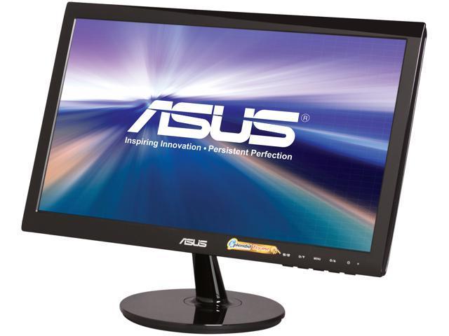ASUS VS Series VS197D-P Black 18.5
