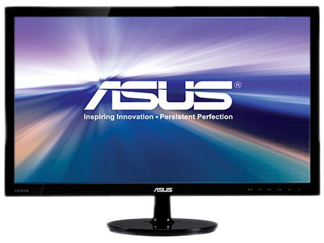 ASUS VS Series VS247H-P Black 23.6