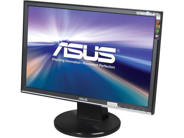 "ASUS VW195N Black 19"" 5ms Widescreen LCD Monitor 300 cd/m2 2000:1"