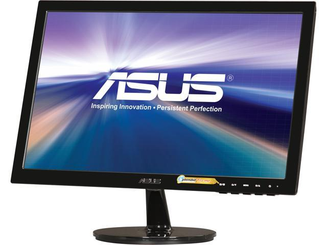 "ASUS VS Series VS198D-P Black 19"" 5ms Widescreen LED Backlight LCD Monitor"