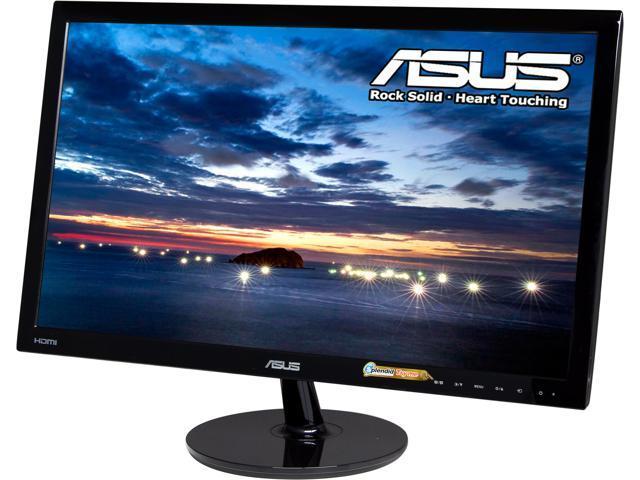 "ASUS VS238H Black 23"" 5ms Widescreen LED Backlight LCD Monitor"