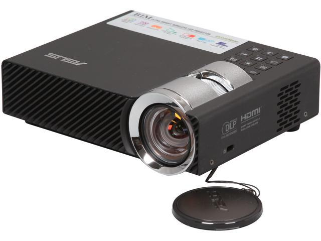 Asus B1M Portable DLP Wireless Projector HDMI 1280x800 USB & SD card reader 700 Lumens