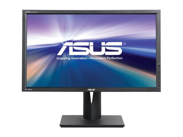 "Asus Professional PA279Q Black 27"" WQHD 2560X1440 (2K) AH-IPS LED Backlight LCD Monitor, Ergonomically-designed Tilt, Swivel, Pivot, Height Adjustable, Built-in Speakers, USB 3.0"