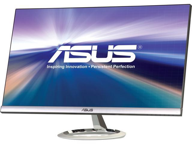 """ASUS MX279H Silver / Black 27"""" 5ms (GTG) Widescreen LED Backlight LCD Monitor, IPS Panel Built-in Speakers"""