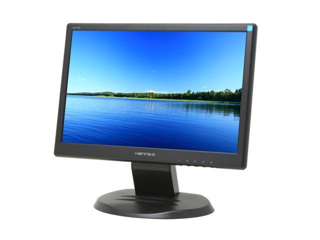 "Hanns-G HW-173DBB Black 17"" 8ms Widescreen LCD Monitor 250 cd/m2 500:1"