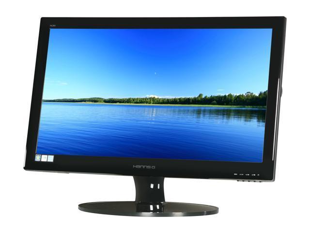 "Hanns-G HL269DPB Black 26"" 5ms Widescreen LED Backlight LCD Monitor Built-in Speakers"