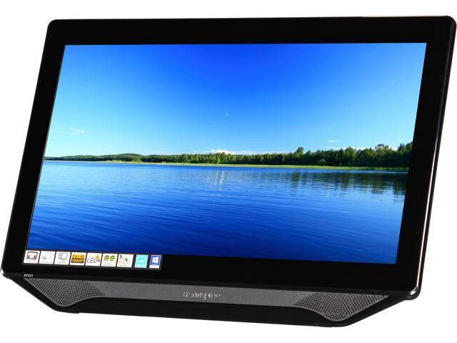 "Hanns-G HT231DPBU Black 23"" Touchscreen Monitor Multi-Touch (10 points) Built-in Speakers"