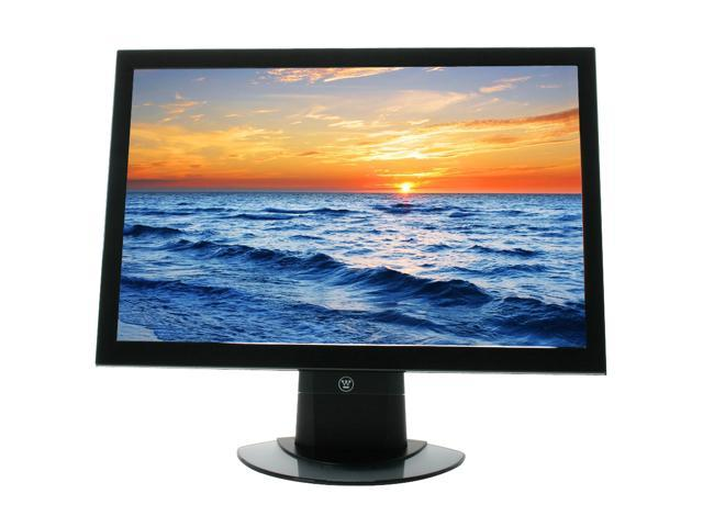"Westinghouse L2410NM Black 24"" 8ms HDMI Widescreen LCD Monitor 500 cd/m2 1000:1 Built-in Speakers"