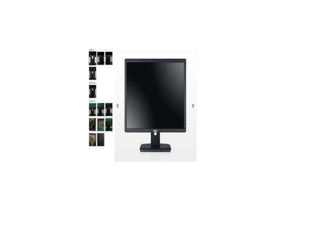 "Dell E Series E2213 Black 22"" 5ms Widescreen LED Backlight LCD Monitor"