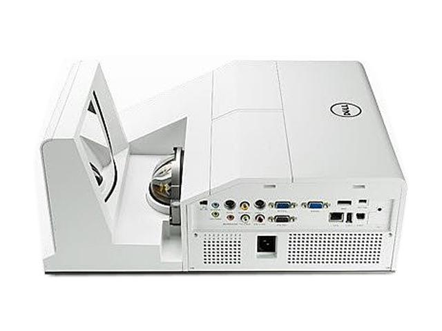 Dell S500WI-KIT 1280 x 800 3200 ANSI Lumens Interactive Ultra Short Throw Projector with Replacement Lamp for S