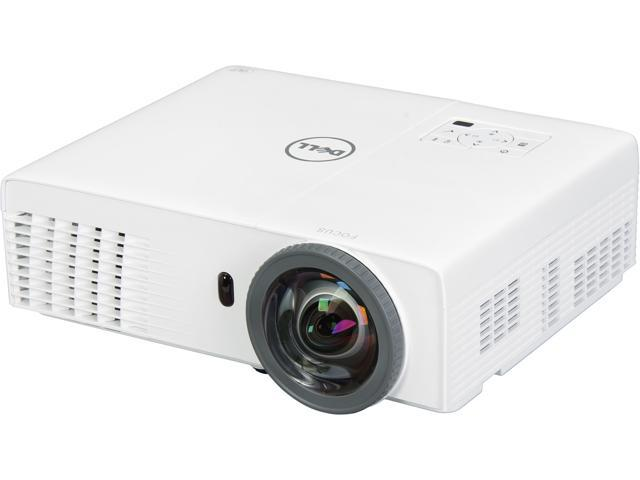 Dell S320WI 1024 x 768 XGA 3000 ANSI Lumens HDMI & USB Inputs w/ Interactive Projector Pen, 3D Ready Short Throw DLP Projector