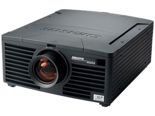 Christie DWU675-E 1920 x 1200 6,700 center (6,100 ANSI) lumens DLP Projector